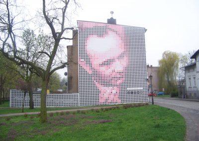 Mural Stanisława Grochowiaka
