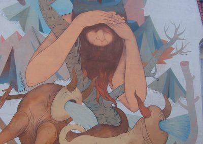 """Mural """"Wieniawita"""""""