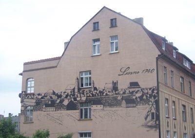 "Mural ""Leszno 1740"""