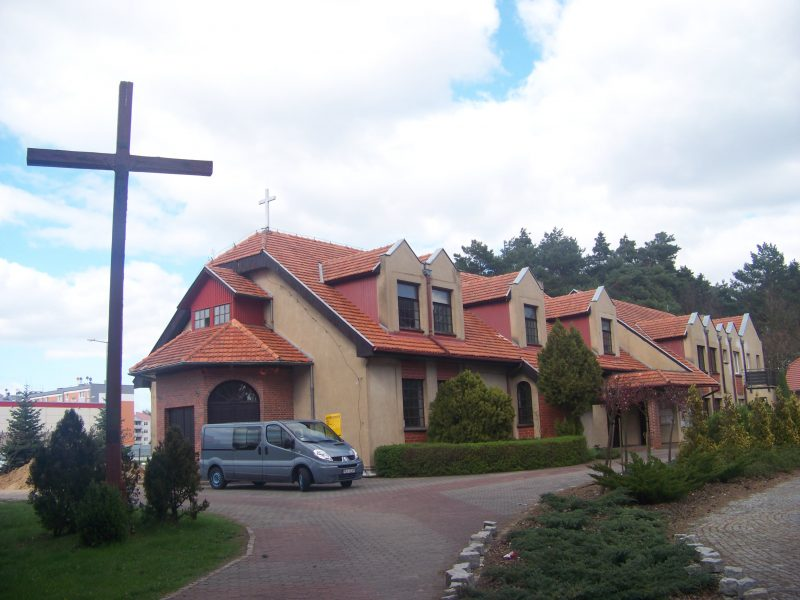 Kościół pw. św. Kazimierza - Krzyż Misyjny