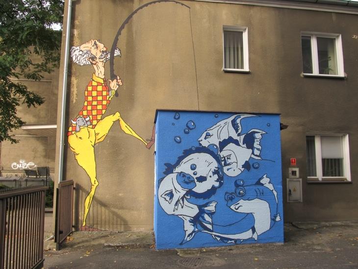 Mural Łowca Talentów