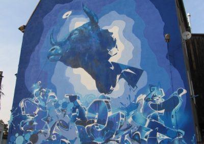"Mural ""Byka"""