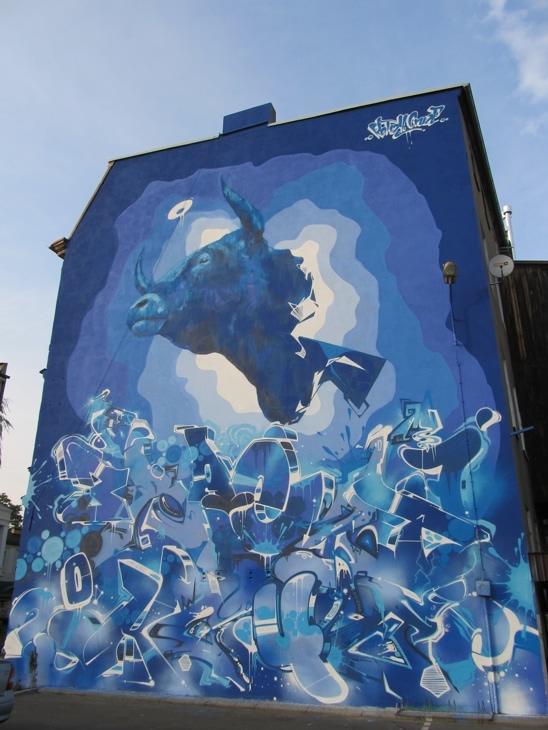Mural Byka