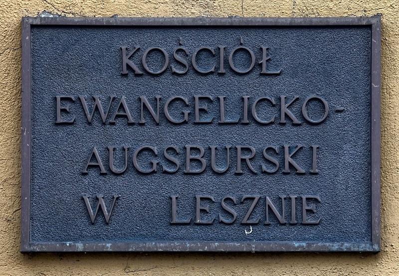Kościół Eawngelicko - Augsburski w Lesznie