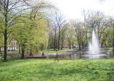 Park przy Placu im. Tadeusza Kościuszki