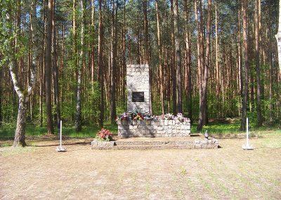 Pomnik egzekucji 339 więźniów w Lesie Książęcym