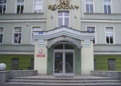 Sąd Rejonowy na ul. Dąbrowskiego
