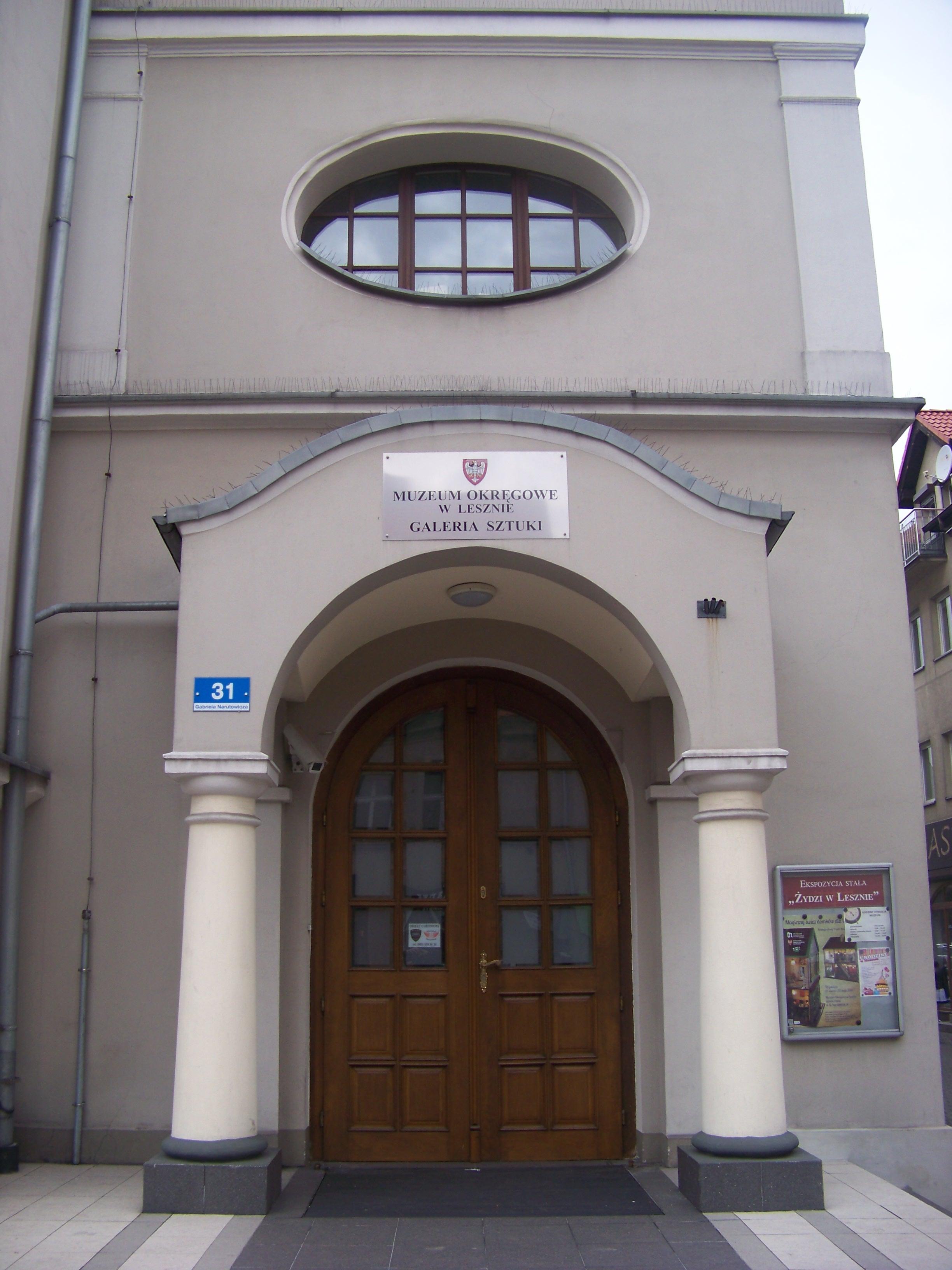 Muzeum Okręgowe w Lesznie, Galeria Sztuki przy ul. G. narutowicza 31