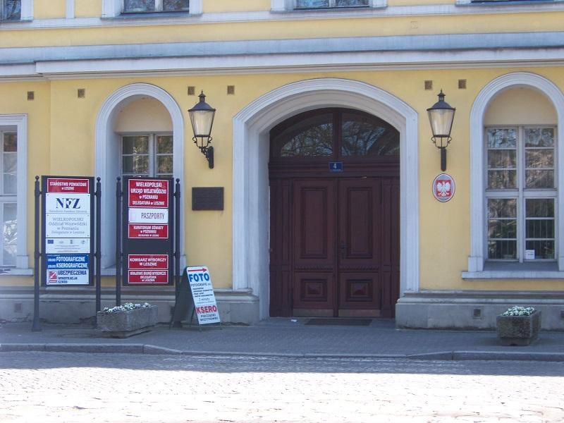 Pałac Sułkowskich przy Placu T. Kościuszki 4.