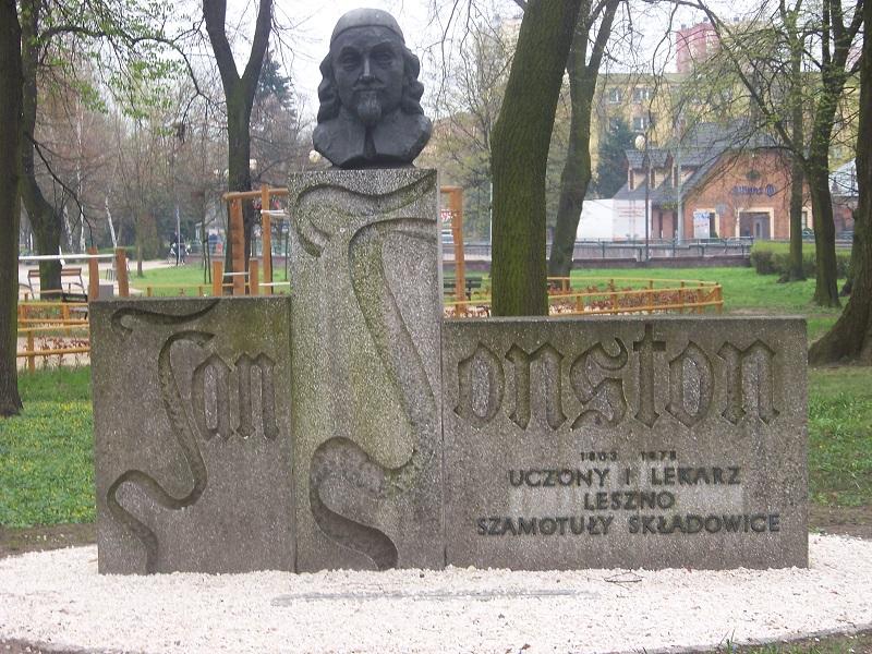 Pomnik 1975 roku. Jana Jonstona 1626-1656