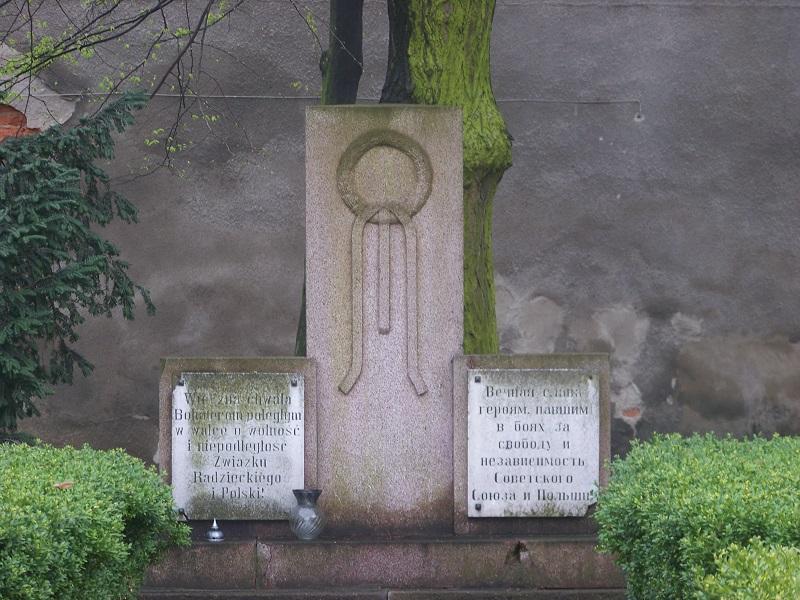 Pomnik poległym żołnierzom Armii Radzieckiej -